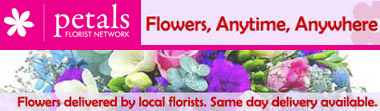 Petals - Flowers delivered by local florists. Same day delivery available