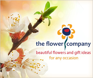 Order online through The Flower Company